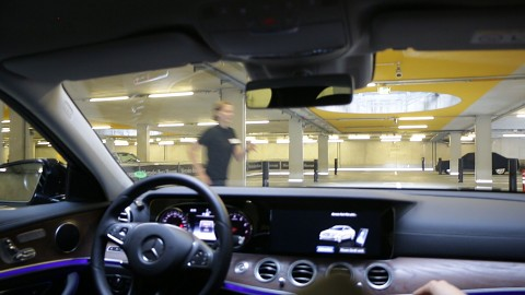 Automated Valet Parking ausprobiert