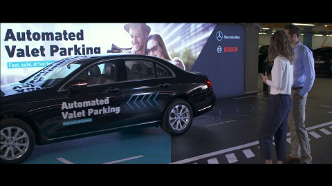 Automated Valet Parking - Herstellervideo