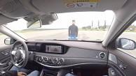 Die Sicherheit der Mercedes S-Klasse im Test