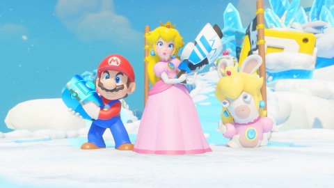 Mario und Rabbids Kingdom Battle - Trailer (Combat)