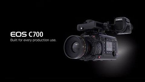 Canon C700 - Trailer