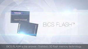 Toshiba 3D-NAND-Flash - Trailer