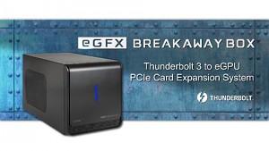 Sonnet zeigt die eGFX Box