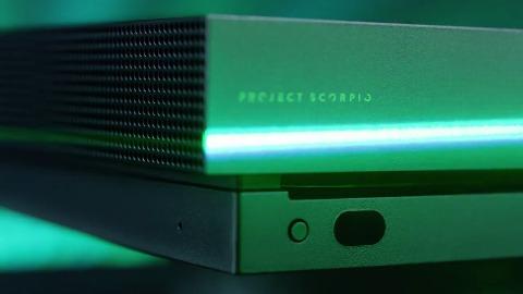 Microsoft Xbox One X Scorpio Edition - Trailer (GC 2017)