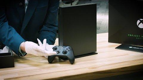 Xbox One X Scorpio Edition - Unboxing (Microsoft)