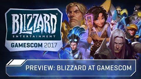 Blizzard auf der Gamescom 2017