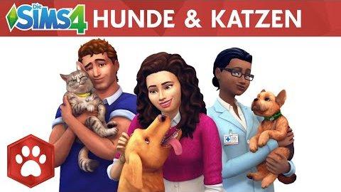 Die Sims 4 Hunde und Katzen - Trailer (Gamescom 2017)