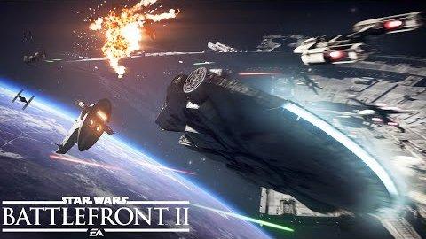 Star Wars Battlefront 2 - Trailer (Starfighter Assault)