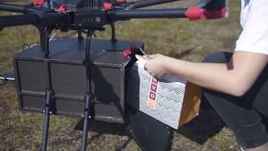 Drohnenlieferdienst in Reykjavík