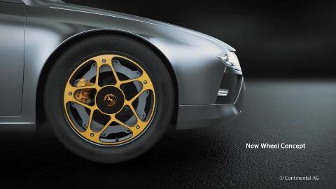 Continental New Wheel Concept (Herstellervideo)