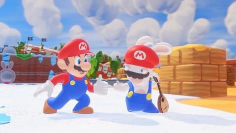 Mario + Rabbids Kingdom Battle Gameplay von der gamescom