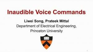 Digitale Assistenten im Ultraschallbereich steuern - Princeton Universität