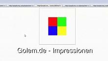 Canvas 3D - Impressionen der Beispiele aus dem OpenGL ES 2.0 Programming Guide