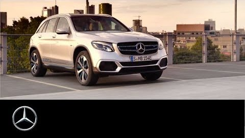 Kombi-Brennstoffzellenauto GLC F-Cell - Mercedes