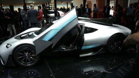 Mercedes AMG Project One (IAA 2017)