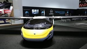 Aeromobil angesehen (IAA 2017)