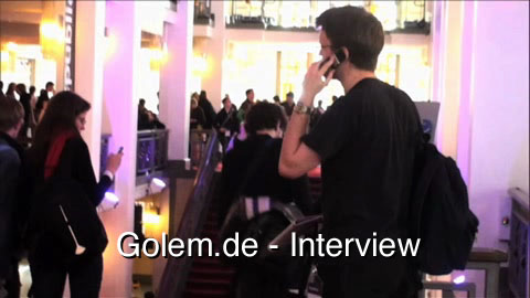Esra'a al Shafei - Interview von der republica'09 (Audio)