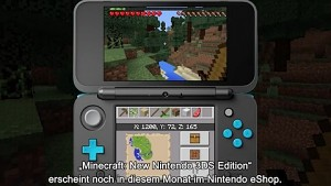 Minecraft für New 3DS - Gameplay-Trailer