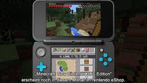 Minecraft Für New DS GameplayTrailer VideoGolemde - Minecraft ds spiele
