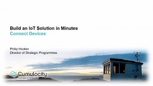 Einrichten von Cumulocity-IoT - Präsentation