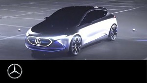 Elektrische Kompaktklasse Concept EQA - Mercedes