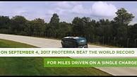 Reichweitenrekord für einen E-Bus - Proterra