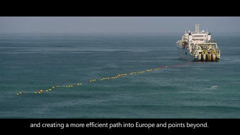 Marea Seekabel verlegt (Herstellervideo)