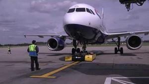 Mototok im Einsatz - British Airways