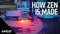 Wie ein Zen-Chip von AMD entsteht
