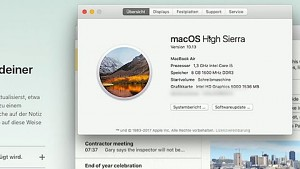 APFS in High Sierra ausprobiert