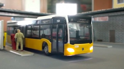 Teilautomatisierter Busbetriebshof- KIT