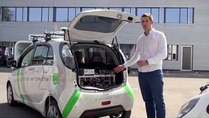 Vernetzte intelligente Autos - EPFL