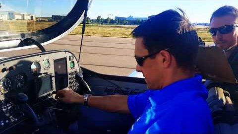 Bodentest des Sun Flyer - Bye Aerospace