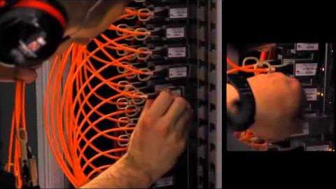 Technik beim Internetknoten DE-CIX