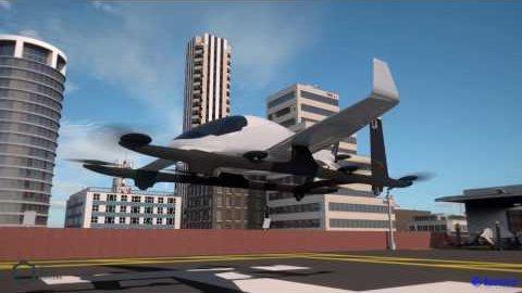 Elektrisches Lufttaxi - Aurora Flight Sciences