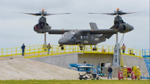 Bell V-280 Valor - Bodentests