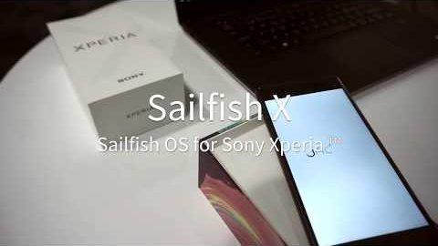 Sailfish X auf Sonys Xperia X - Herstellervideo