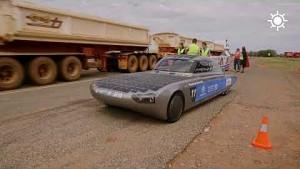 Solarauto Blue Cruiser bei der World Solar Challenge