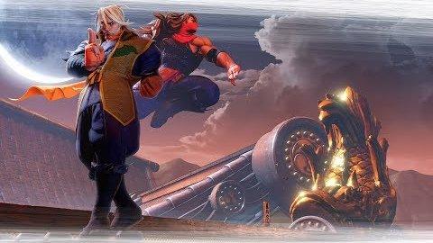 Street Fighter 5 - Trailer (Zeku)