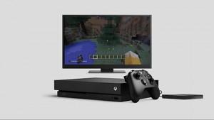 Xbox One X - Trailer (Datentransfer von Xbox One)