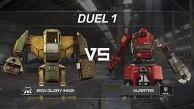 Roboterkampf Megabots vs Kuratas