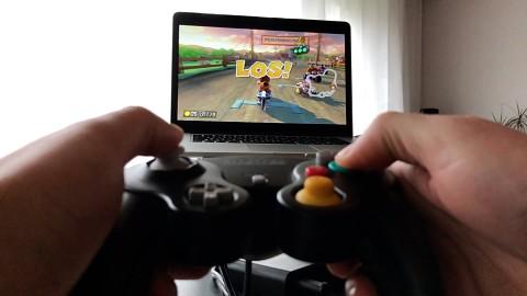 Gamecube-Controller mit Nintendo Switch ausprobiert