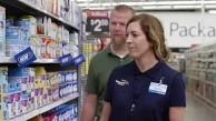 Roboter scannen Supermarktregale - Walmart