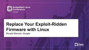 Linux statt UEFI - Ronald Minnich