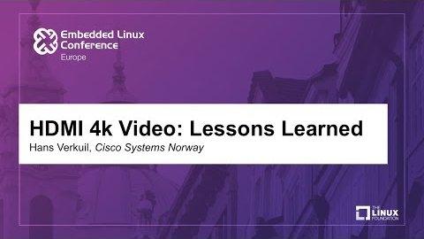 Probleme mit HDMI - Hans Verkuil, Cisco