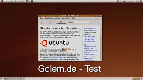 Ubuntu 9.04 - Test