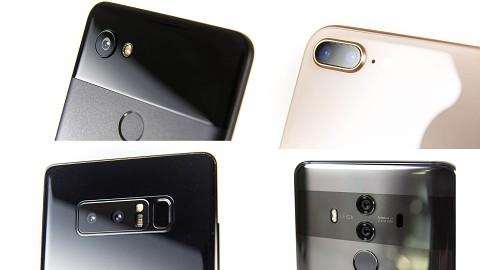 Kameravergleich iPhone 8 Plus, Pixel 2 XL, Galaxy Note 8 und Mate 10