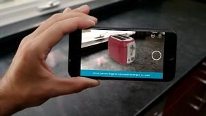 Amazon-App mit AR-Anwendung