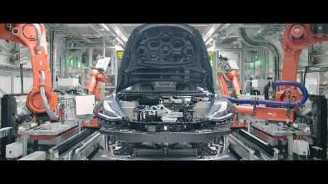 Tesla Model 3 Fertigung