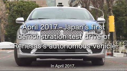Renesas liefert Chips für Toyotas autonome Autos